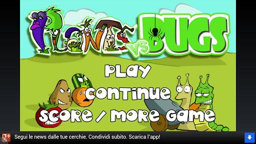 Plants Vs Bugs