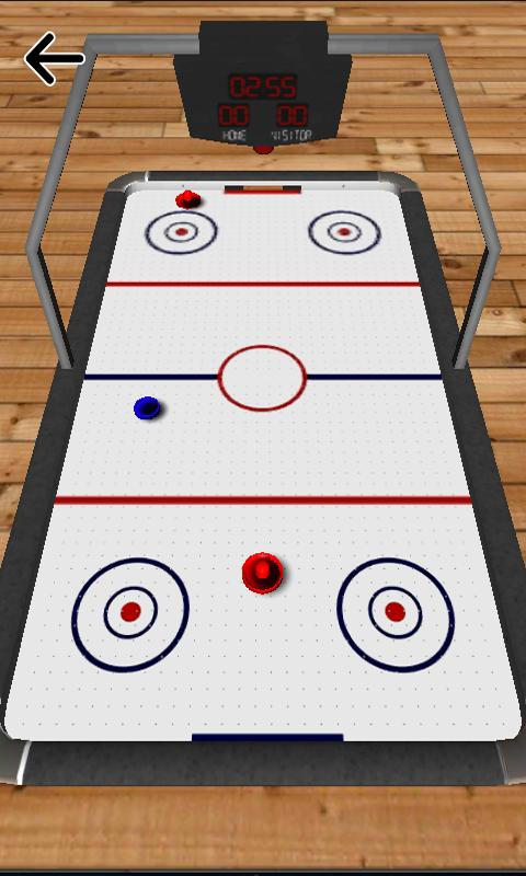 Air Hockey HD- screenshot