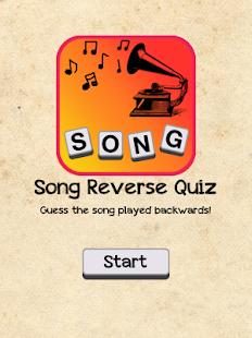 Song Reverse Quiz