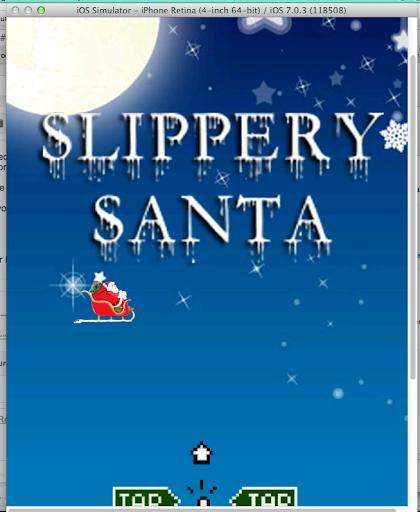 Slippery Santa
