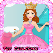 Cute princess facial spa game