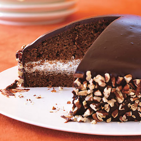 Chocolate-Honey Dome Cake with Chocolate-Honey Glaze