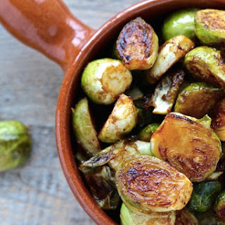 Miso Roasted Brussels Sprouts