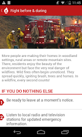 Wildfire - American Red Cross Screenshot 4