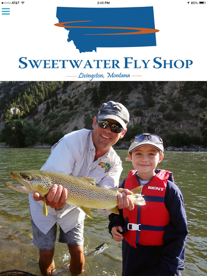 Sweetwater Fly Shop- screenshot