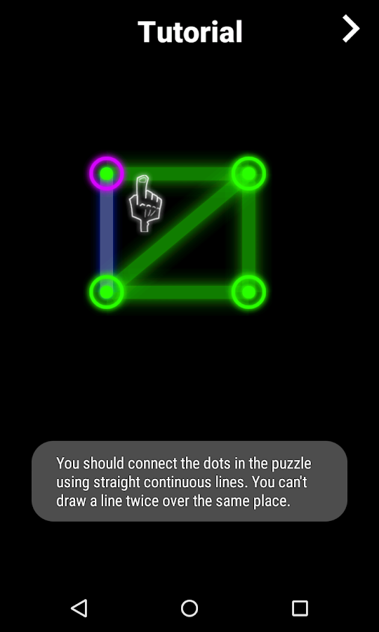GlowPuzzle: Connect the Dots - screenshot
