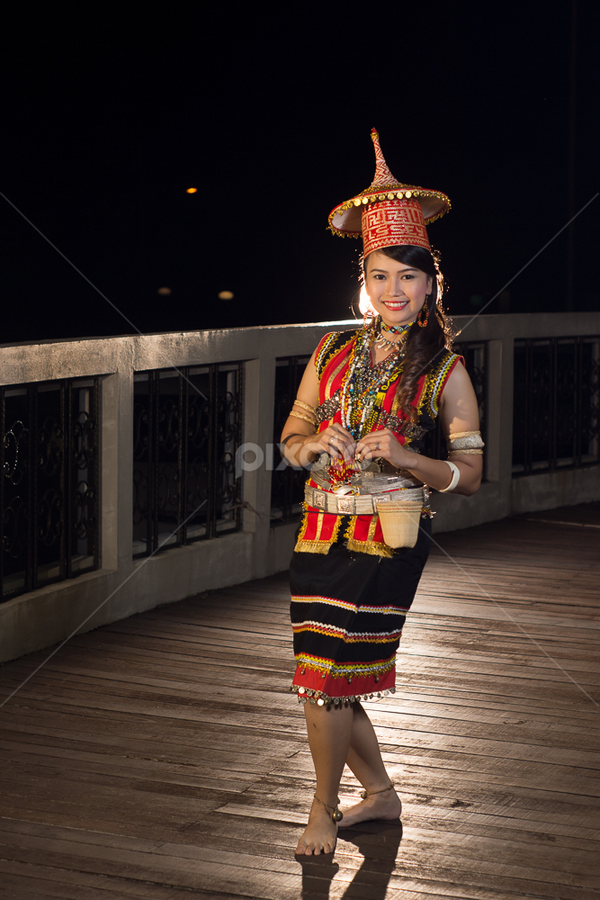 Bidayuh Serian Portraits Of Women People Pixoto