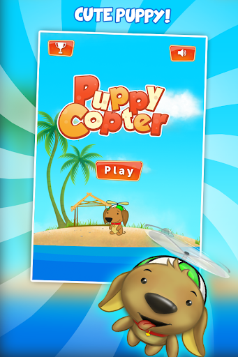 Puppy adventure - Copters game