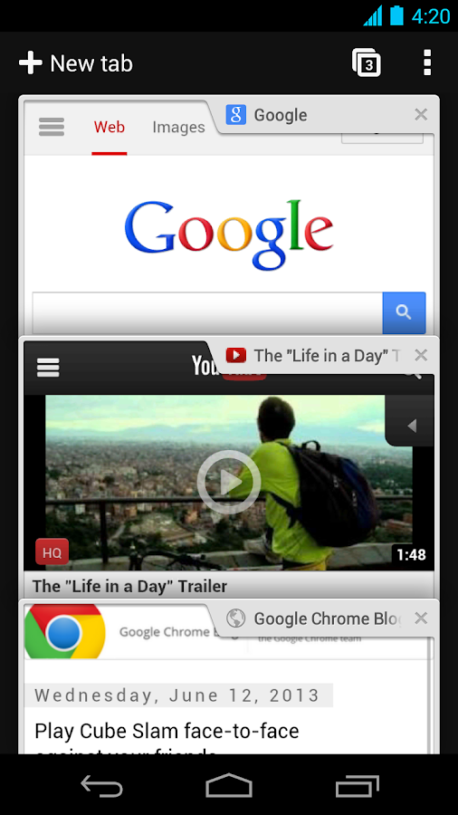 Chrome Browser - Google - screenshot