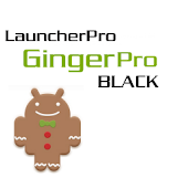 LauncherPro GingerPro Black