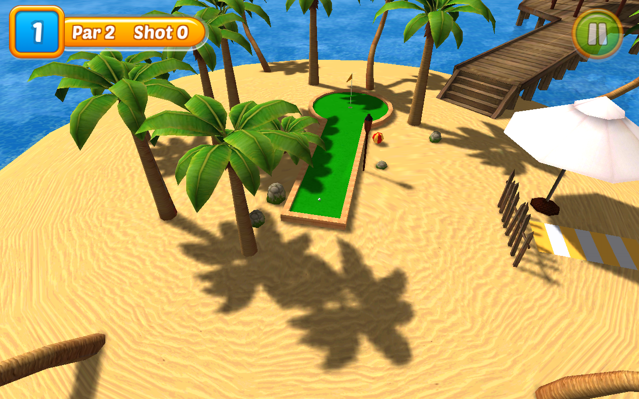 Beach Mini Golf 2- screenshot
