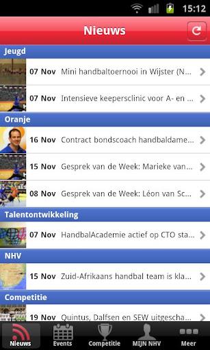 Handbal.nl competitie