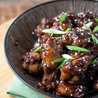 Cola Glazed Chicken Wings.