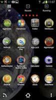 Screenshot of Space Theme