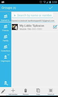 GOContacts Theme Jelly Bean- screenshot thumbnail