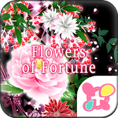 Flowers of Fortune Wallpaper