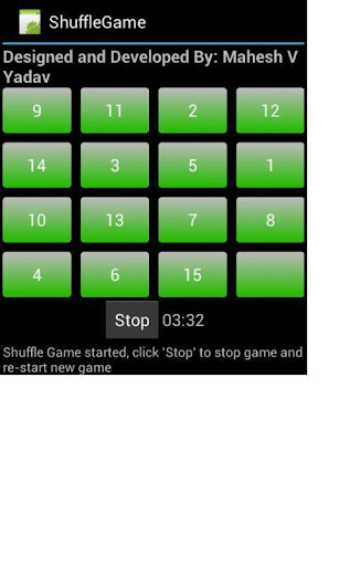 Shuffle Numbers Game
