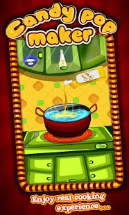 Candy Pop Maker – Cooking Game- screenshot thumbnail