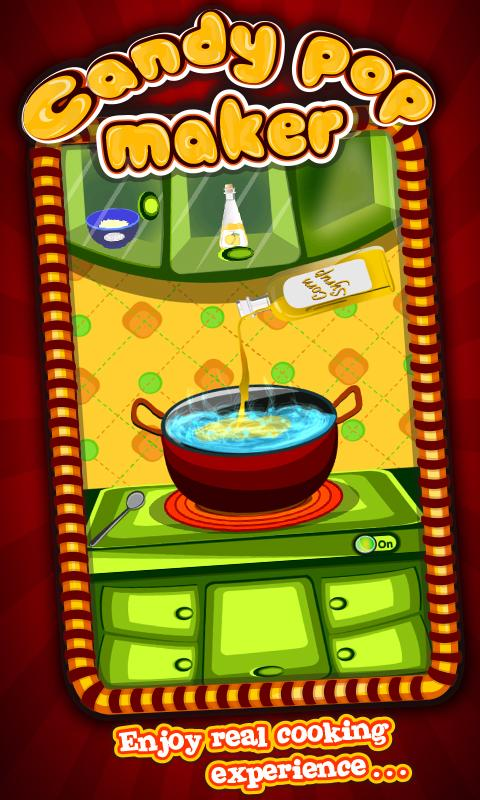 Candy Pop Maker – Cooking Game - screenshot