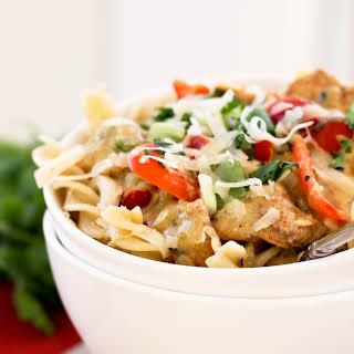 Spicy Mexican Chicken Pasta.