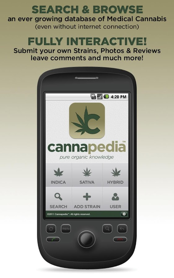Cannapedia™ - screenshot