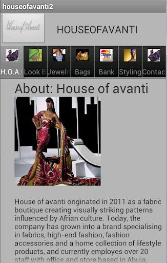 House of Avanti