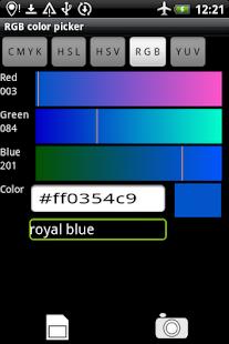 Rgb Color Picker - screenshot thumbnail