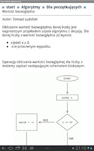 Baza Wiedzy algorytm.org- screenshot thumbnail