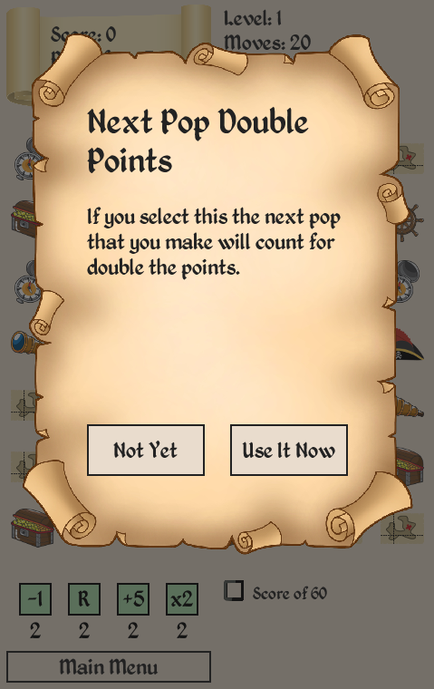 Pirate Hunt - Puzzle Challenge- screenshot