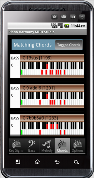 Piano neo soul piano chords : Piano Harmony MIDI Studio Pro - Android Apps on Google Play
