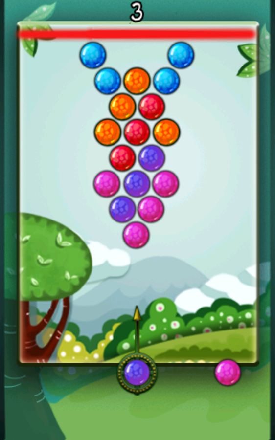 Jungle Bubbles - screenshot