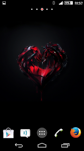 Theme Xperien Heart- screenshot thumbnail