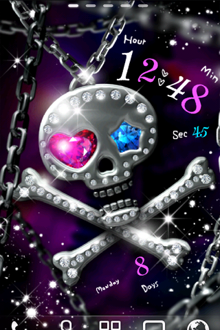 Diamond Skull ライブ壁紙