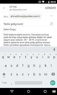 Yandex.Mail Ekran Görüntüsü