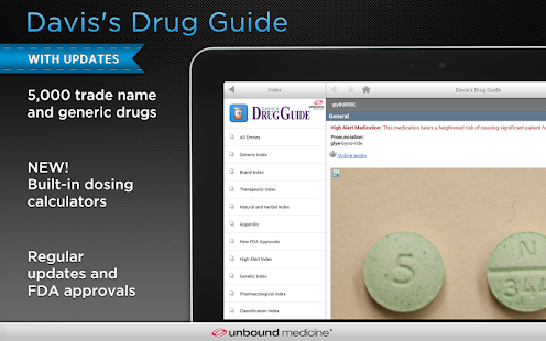 Davis's Drug Guide - screenshot thumbnail
