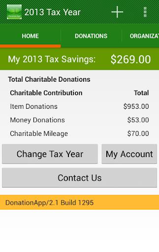 DonationApp 2.1
