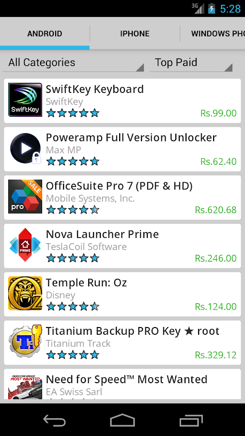Mobile App Store   Android Apps on Google Play