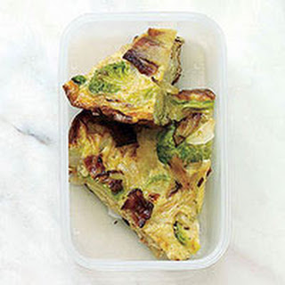 Bacon-Brussels Sprout Frittata
