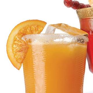 Sparkling Cider and Cara Cara Orange Punch.