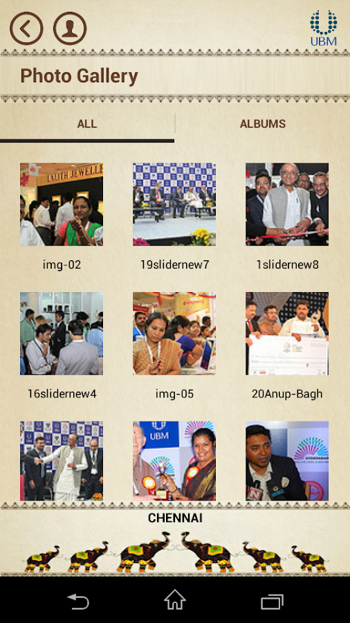 UBM India Jewellery Fairs- screenshot