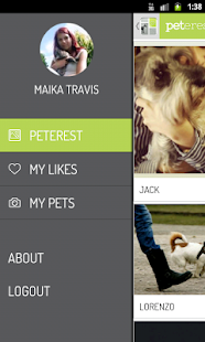 Peterest - Pet Image Gallery - screenshot thumbnail