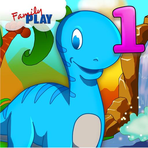 ディノ1級学習ゲーム 教育 App LOGO-APP試玩