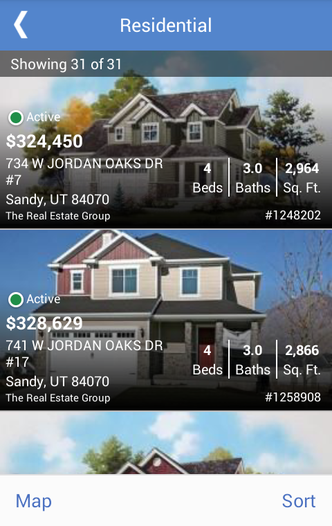 UtahRealEstate.com- screenshot
