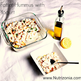 Fattet Hummus (Hummus Casserole) Two ways