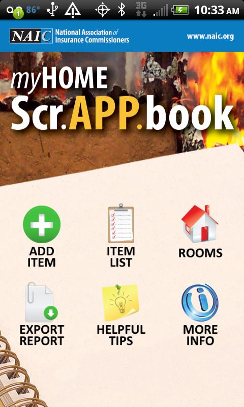 MyHOME Scr.APP.book - screenshot