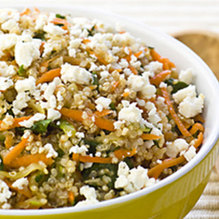 Quinoa with Feta & Vegetables.