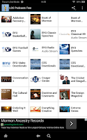 Screenshot of LDS Podcasts Free