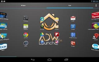 Screenshot of ADWLauncher EX