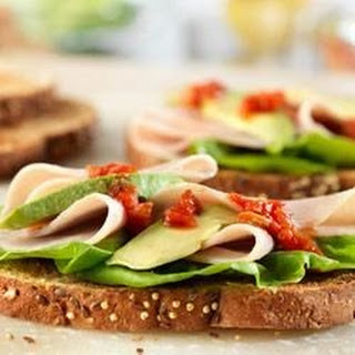 Turkey and Avocado Sandwiches
