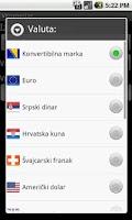 Screenshot of VKonvertor - konvertor valuta